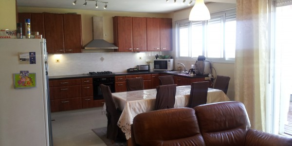 Nachal Lachish | Kitchen & Dining Area - Duplex for Sale in Ramat Beit Shemesh