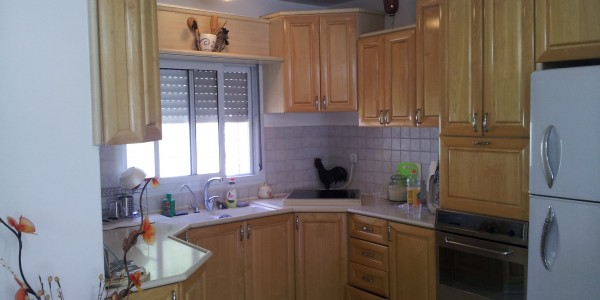 Nehar HaYarkon | Kitchen - Duplex for Sale in Ramat Beit Shemesh
