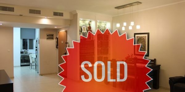 Apartment SOLD on Nachal Lachish, Ramat Beit Shemesh