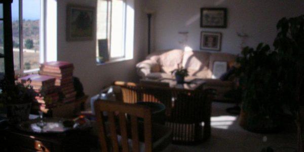 Living Area | Penthouse on Nahar HaYarden