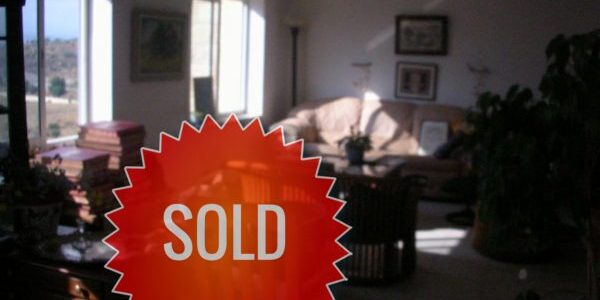 Penthouse Sold in Ramat Beit Shemesh