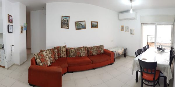 Living and Dining Area | Apartment on Nahal Micha
