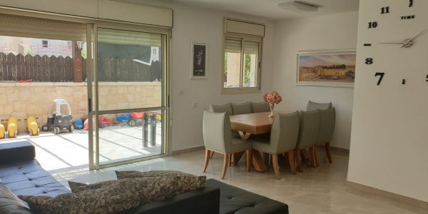 Living, Dining Area | Duplex on Nachal Shaham, Ramat Beit Shemesh