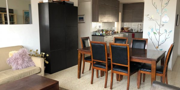 Living to Kitchen | Duplex on Nachal Matta, Ramat Beit Shemesh, Israel