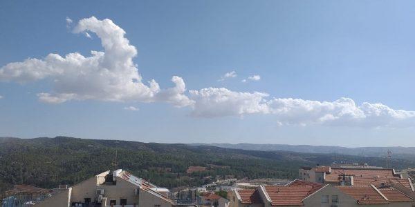 View | Apartment on Nachal Dolev, Ramat Beit Shemesh