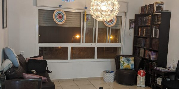 Living Room | Apartment on Rabbi Yannai, Nofei HaShemesh