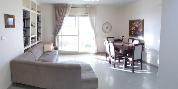 Living and Dining Area | Apartment on Yoal HaNuvie St - Ramat Beit Shemesh Gimmel