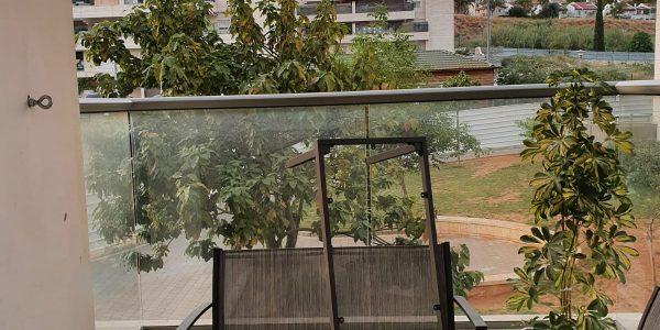 Balcony | Apartment on Rabbi Yannai Street, Beit Shemesh
