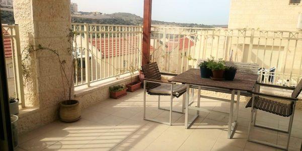 Balcony with Pergola