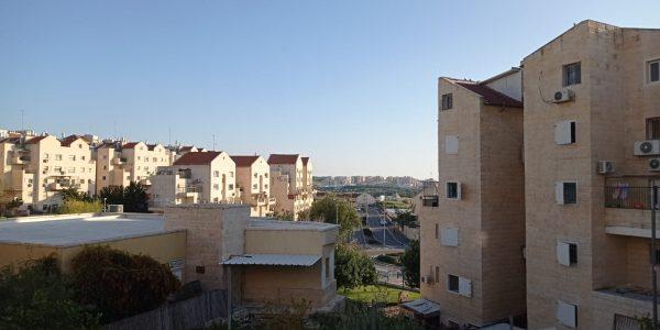 View | Garden Apartment on Nachal Dolev, Ramat Beit Shemesh